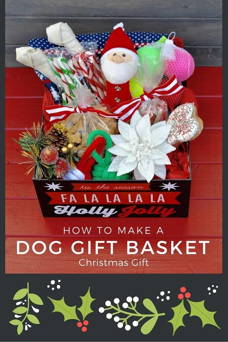 DIY Dog Bone Wreath + Dog Gift Basket - Make Life Lovely