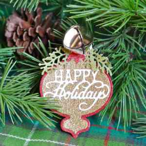 Handmade Christmas Ornaments- Festive Blog Hop, Day 2