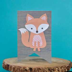 Adorable Fox Card