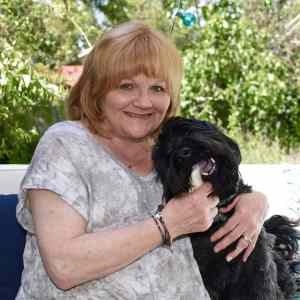 Backyard Makeover for Lesley Nicol (Mrs. Patmore from Downton Abbey)