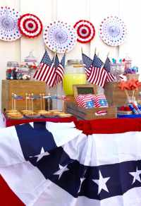 old fashioned fourth of july decorations