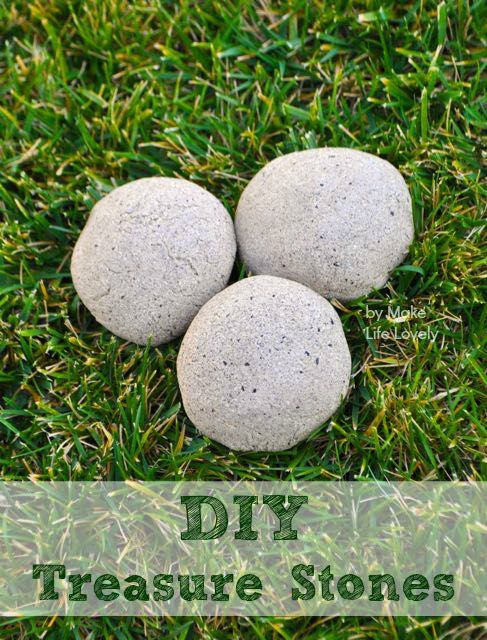 DIY Treasure Stones Tutorial