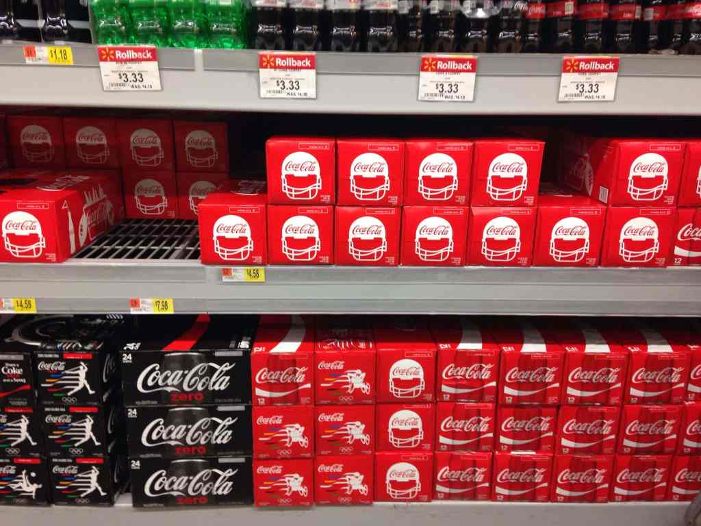Coca-Cola at Walmart