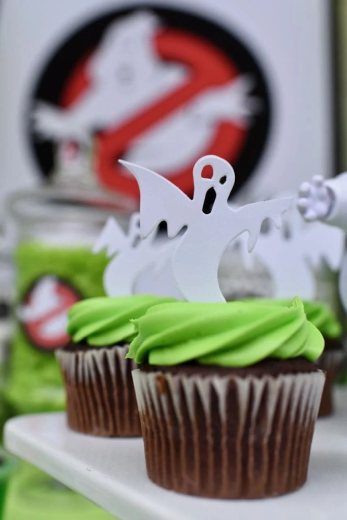 Ghostbusters party table