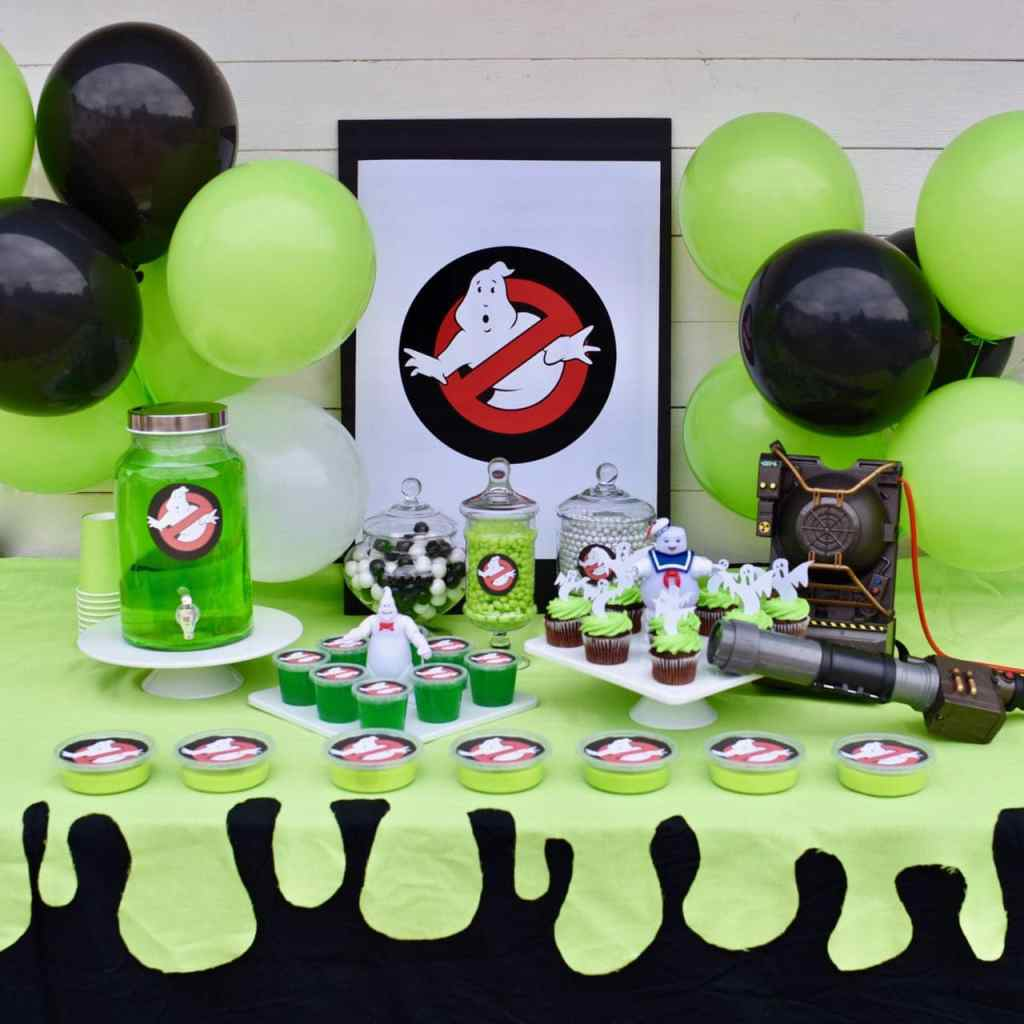 Ghostbusters party tutorial