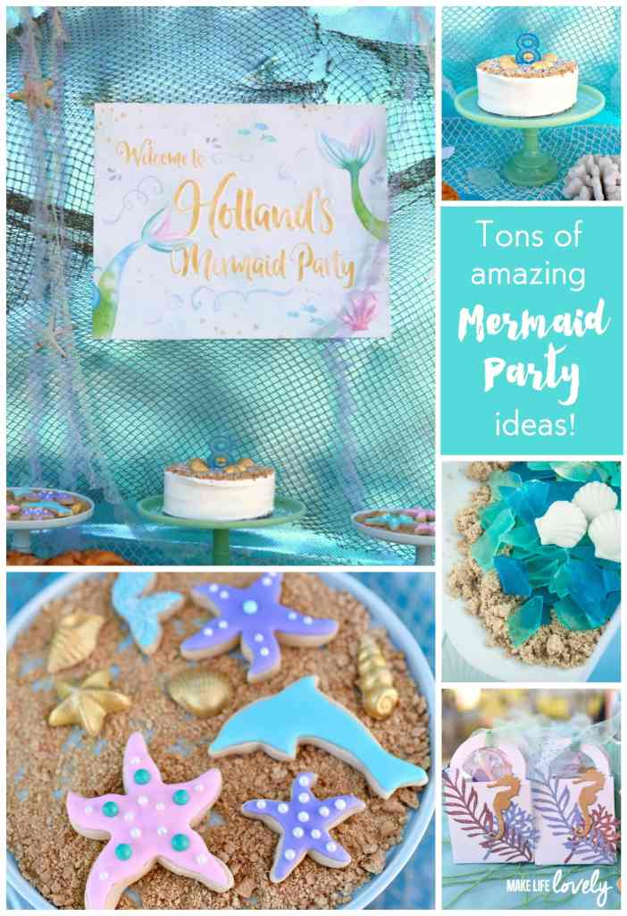 Mermaid Party You'll Just Love - Make Life Lovely