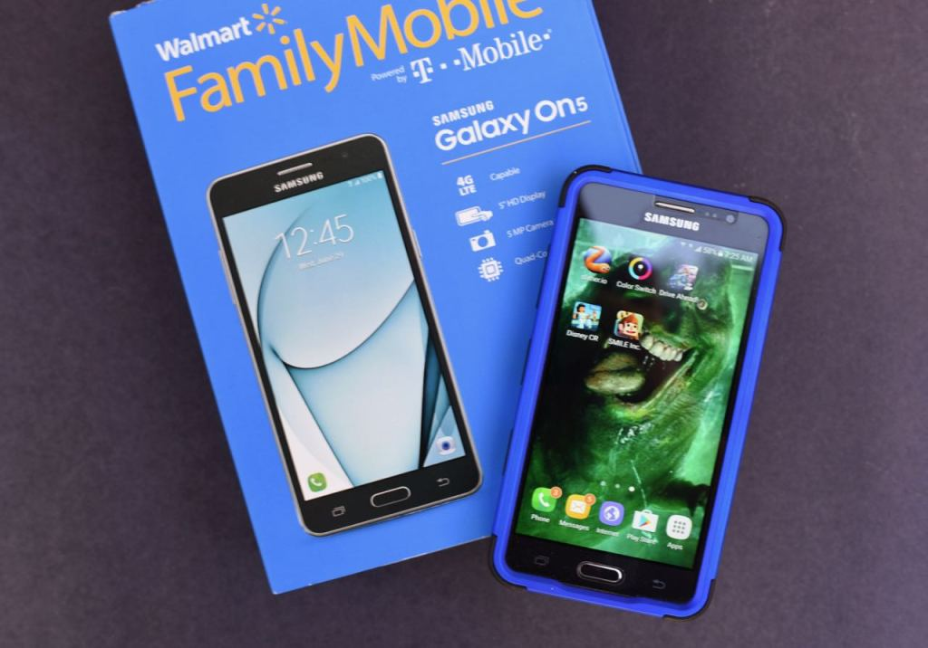 Walmart Family Mobile PLUS program