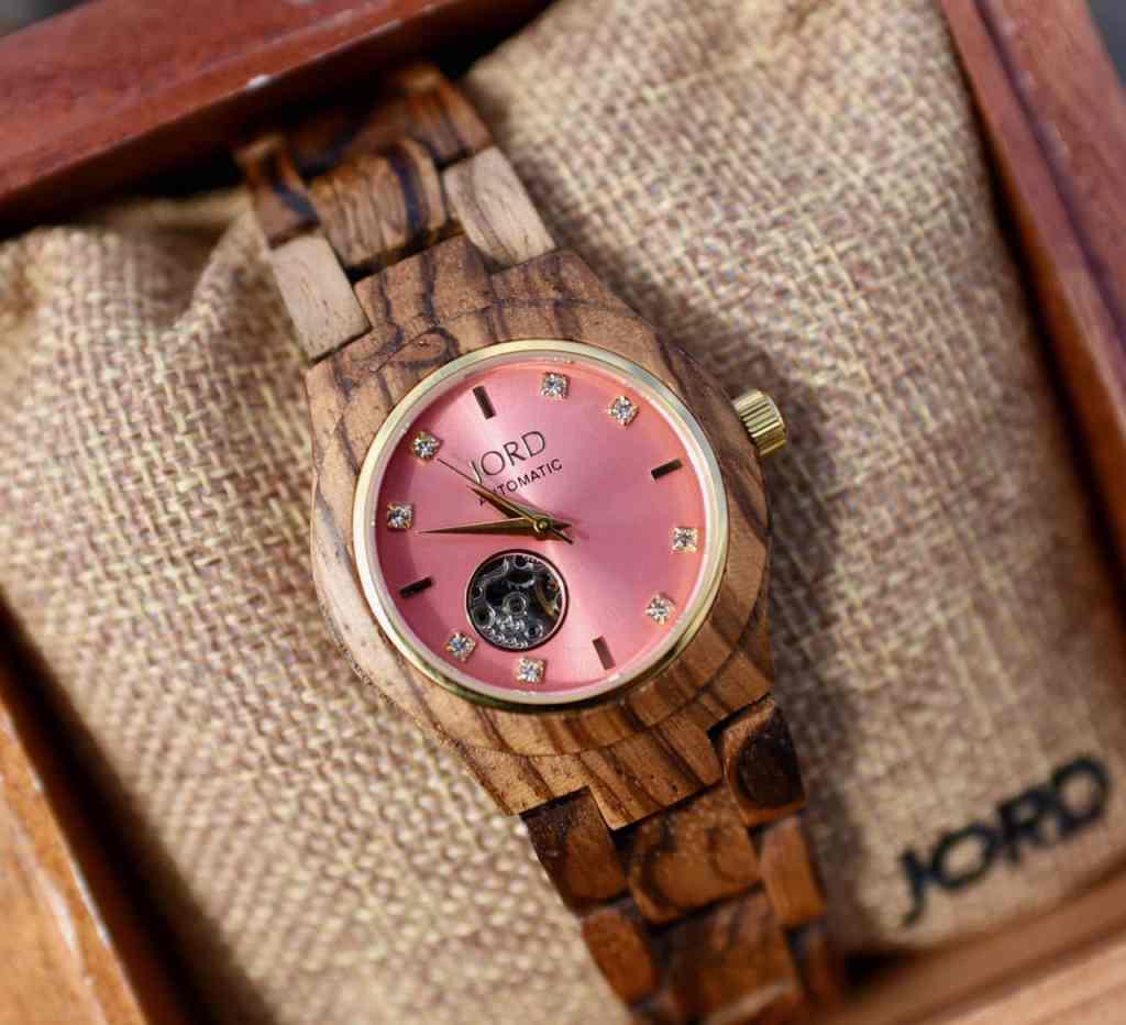 Christmas gift idea Jord wood watch