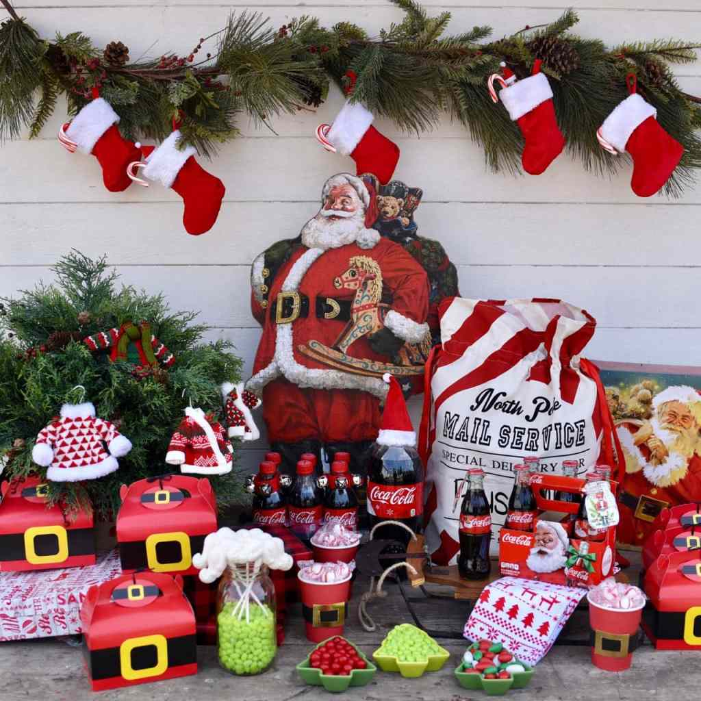 VIntage Santa Party Ideas
