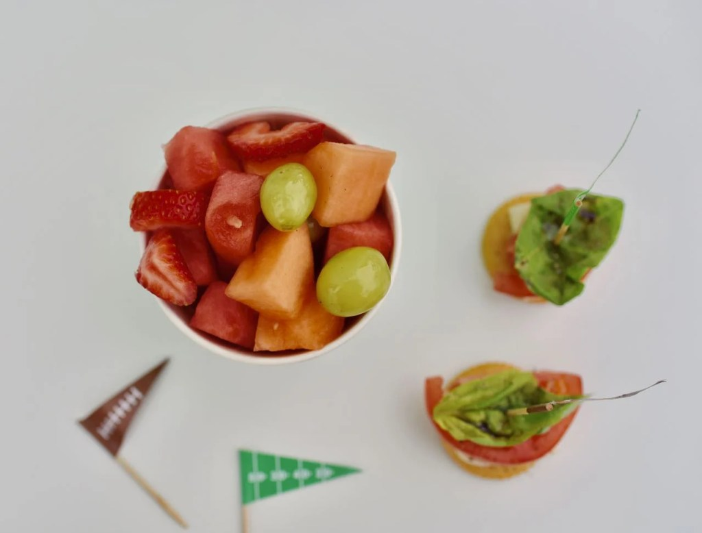 Healthy football party ideas for the Super Bowl