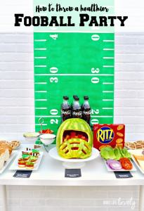Healthy Football Party + Caprese Appetizer Recipe