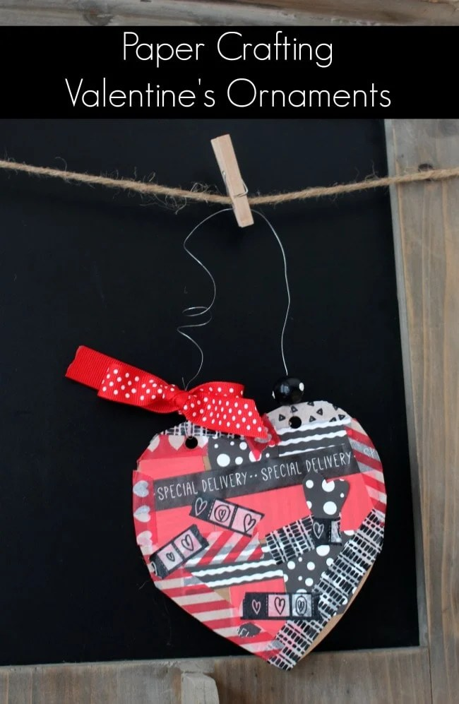 Paper-Crafting-Valentine-Ornaments