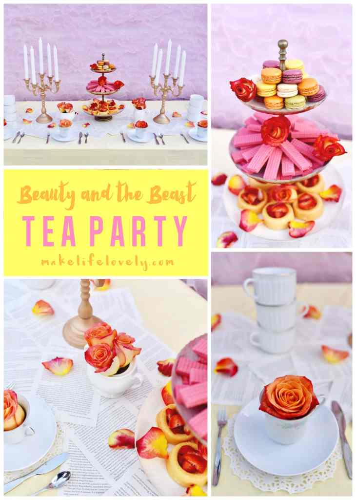 Beauty and the Beast tea party | by Make Life Lovely