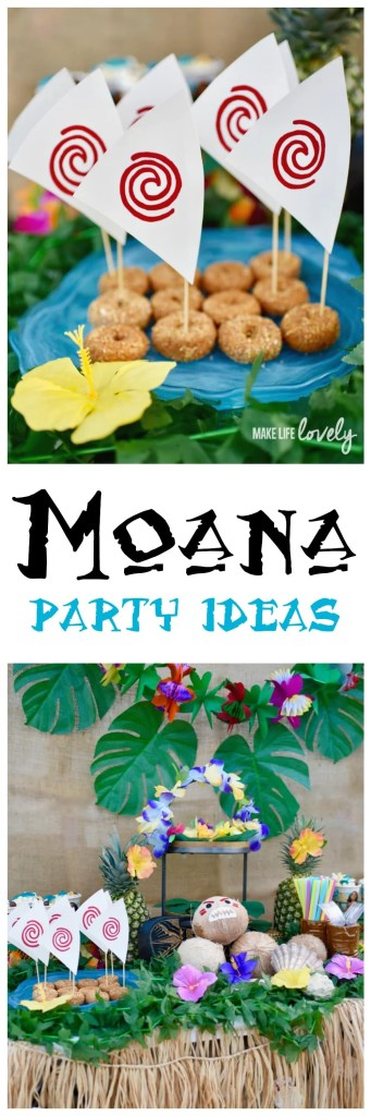 Amazing Moana party with lots of food and decorations ideas. Love!