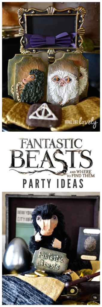 Fantastic Beasts and Where to Find Them party that's amazing!