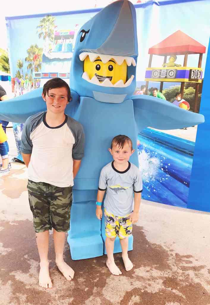Summer fun at LEGOLAND Water Park at LEOGLAND California in Carlsbad