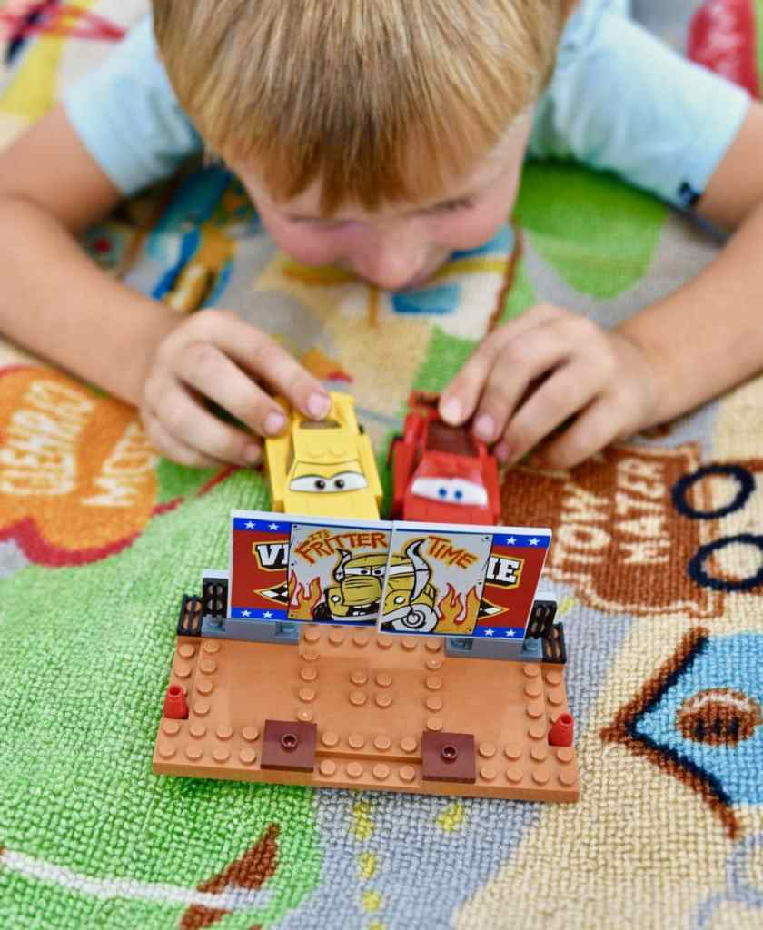 Disney Cars 3 LEGO set play time
