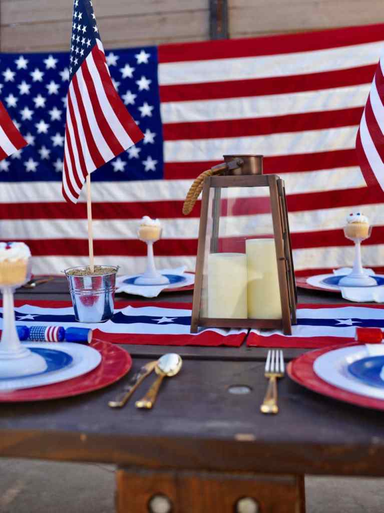 Fourth of July party and table ideas