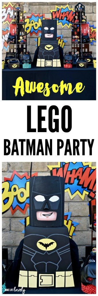 LEGO Batman Party Ideas | Make Life Lovely