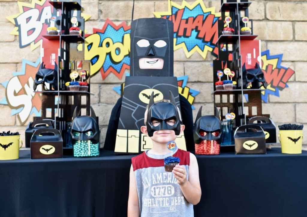 LEGO Batman party for boys