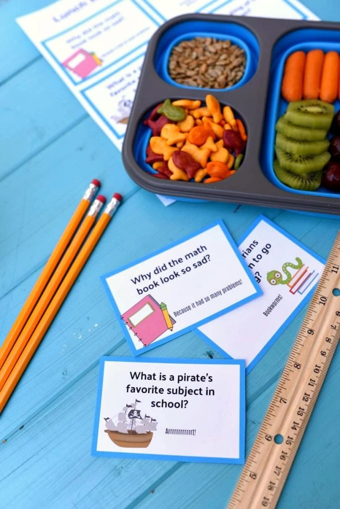Printable lunch box jokes for kids, perfect for back to school!-2