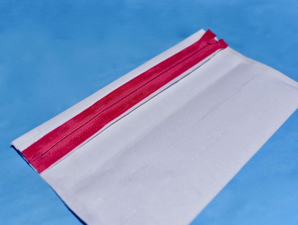 DIY no sew pencil bag