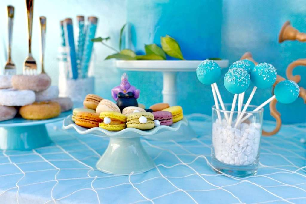 Disney Little Mermaid party food