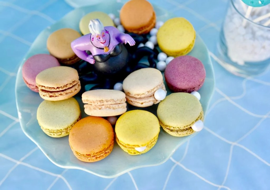 Little Mermaid party food pearls and oysters with Ursula-2
