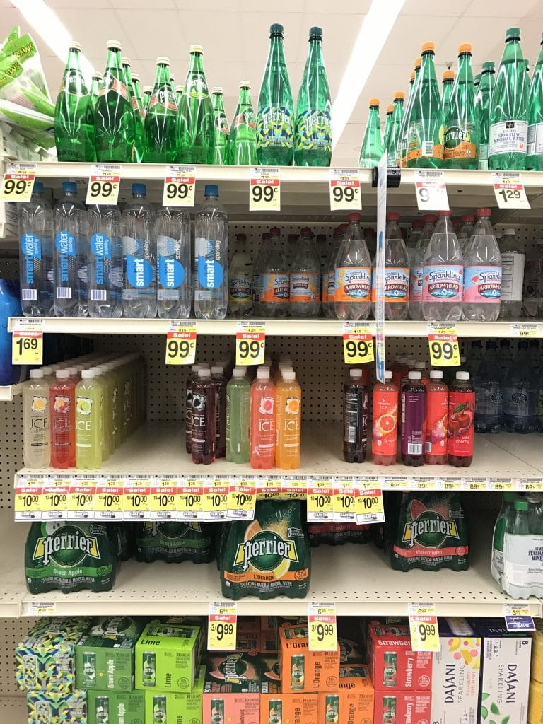 smartwater sparkling at albertsons