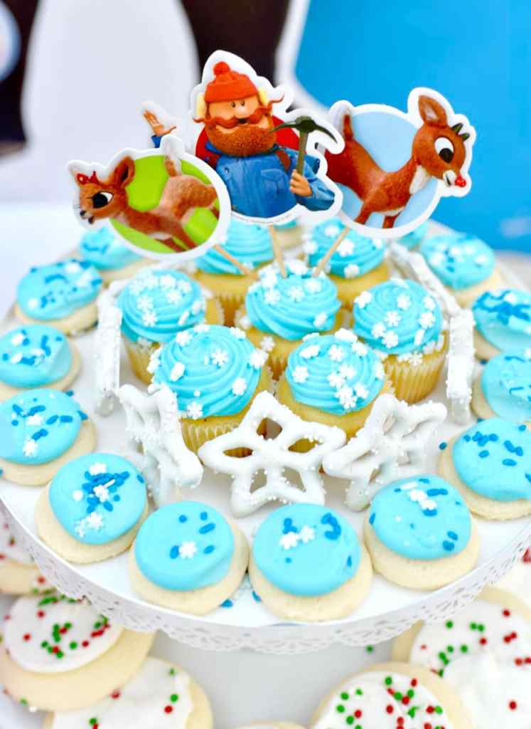 Rudolph the Red-Nosed Reindeer party food and treats