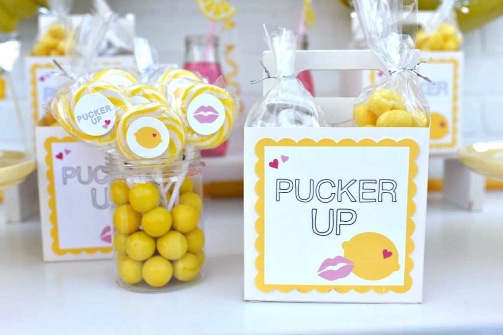 Pucker Up creative Valentine's Day party theme + Free Valentine's Day party printables!