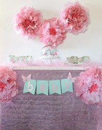 Girl Baby Shower Ideas + Free Cut Files