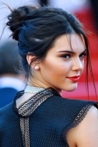 Kendall Jenner Updo