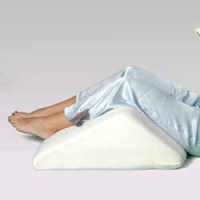 Deluxe Memory Foam Rounded Sloped Knee Lift Pillow, Alex ...