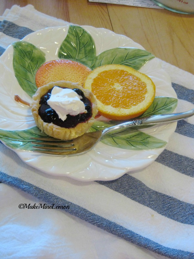 Mini Blueberry Tarts