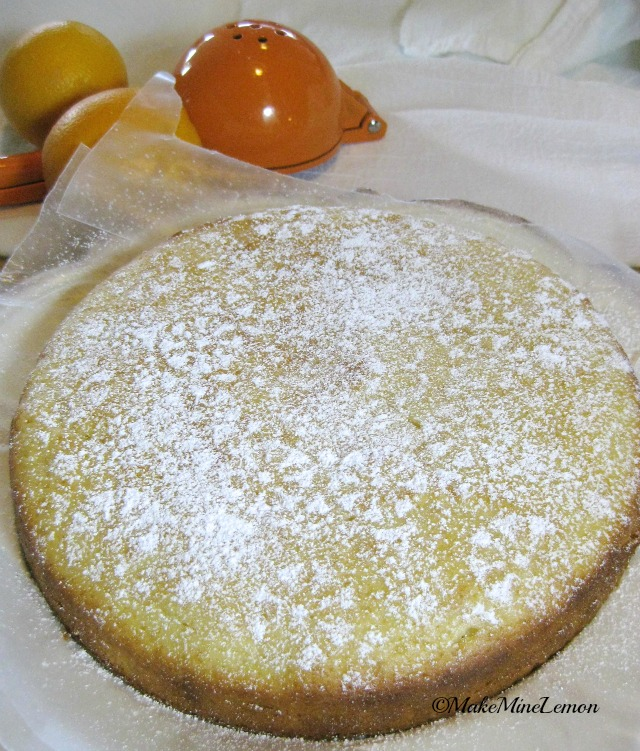 Cake With Icing Sugar Recipe : OrangeYogurt Cake