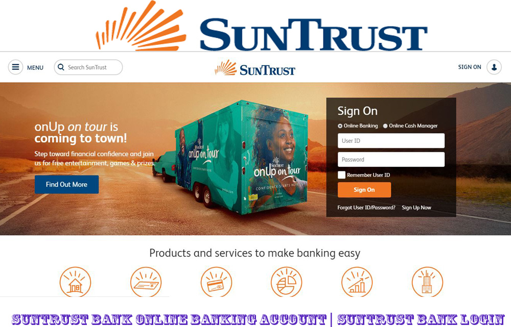 SunTrust Bank Online Banking Account SunTrust Bank Login