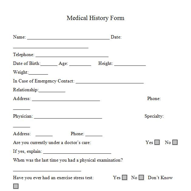 printable medical consent type printable medical consent form free - Patient File Template
