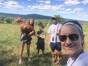 Family hike through the old Girl Scout camp getoutside hikingadventureshellip