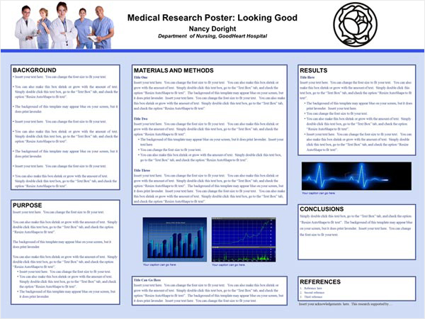 Thesis poster board presentation