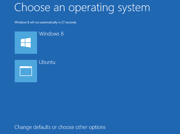 Configure The Boot Menu Of Windows 8 With Easybcd