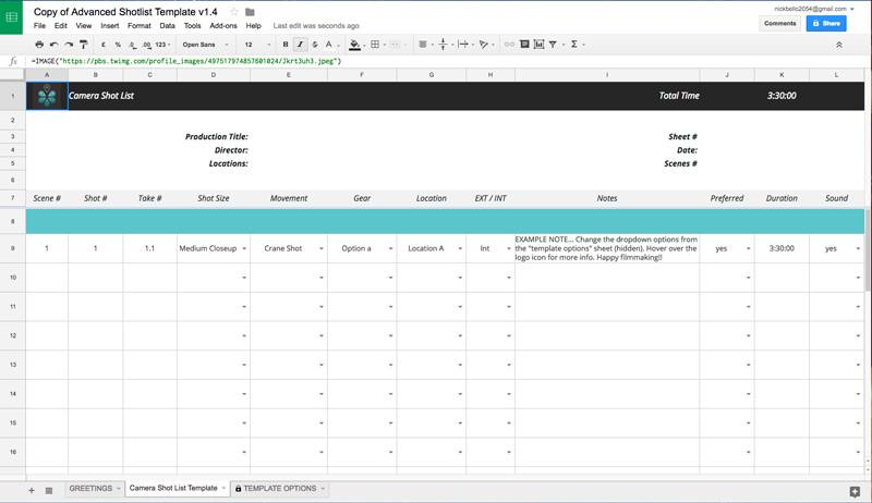 5 Useful Microsoft Excel Templates for Indie Film/TV Production - excel po template