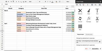 10 Google Sheets Add-ons You Should Consider Using - Make Tech Easier