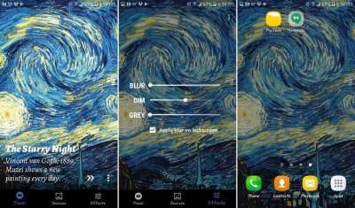 6 Wallpaper Changer Apps to Make Your Android Phone Pop - Make Tech Easier