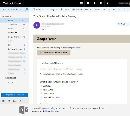 How to Embed a Google Form Poll into an Email - Make Tech Easier