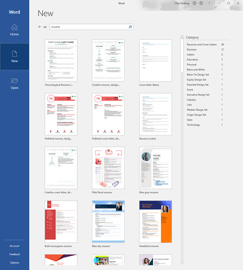How to Draft the Perfect Resume in Microsoft Word - Make Tech Easier