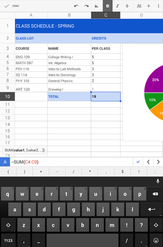 4 of the Best Spreadsheet Apps for Android - Make Tech Easier