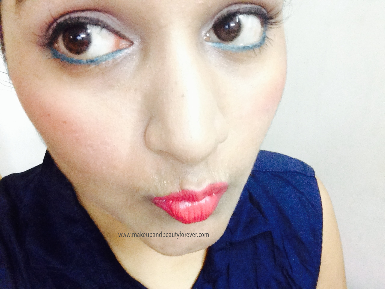 Maybelline Color Show Lipstick Cherry Crush 207 Review