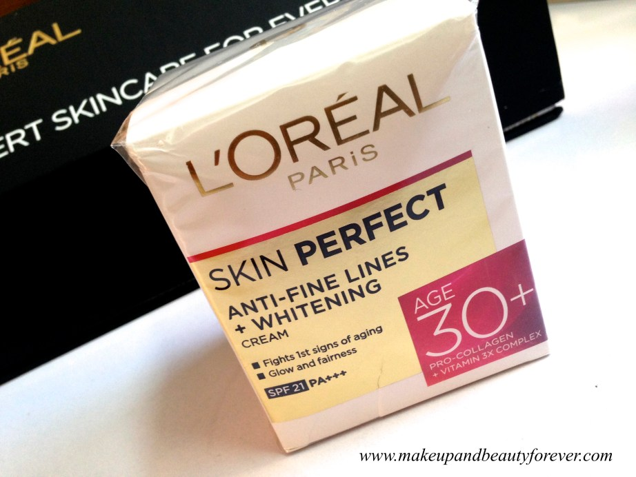 L'Oreal Paris India Skin Perfect Range - Skin Care for every Age 30+ Skin Perfect Range