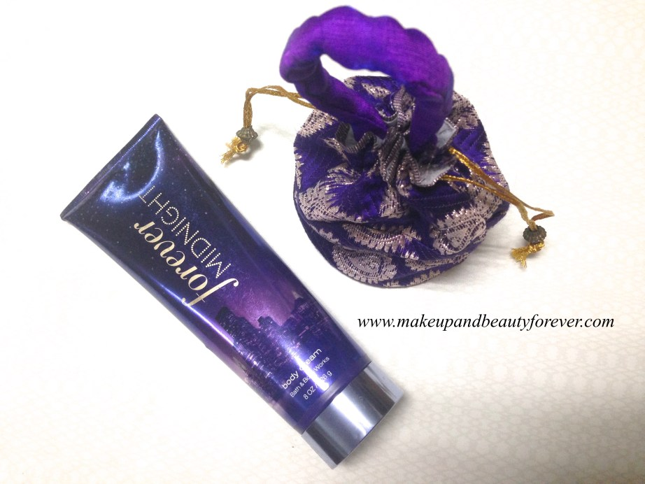 Bath & Body Works Forever Midnight Body Cream Review